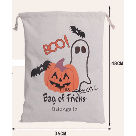 Halloween Trick Or Treating Bags (CBD Halloween Bags Trick Or Treat Candy Bags Drawstring Gift Sacks Pumpkin Bags for Halloween)