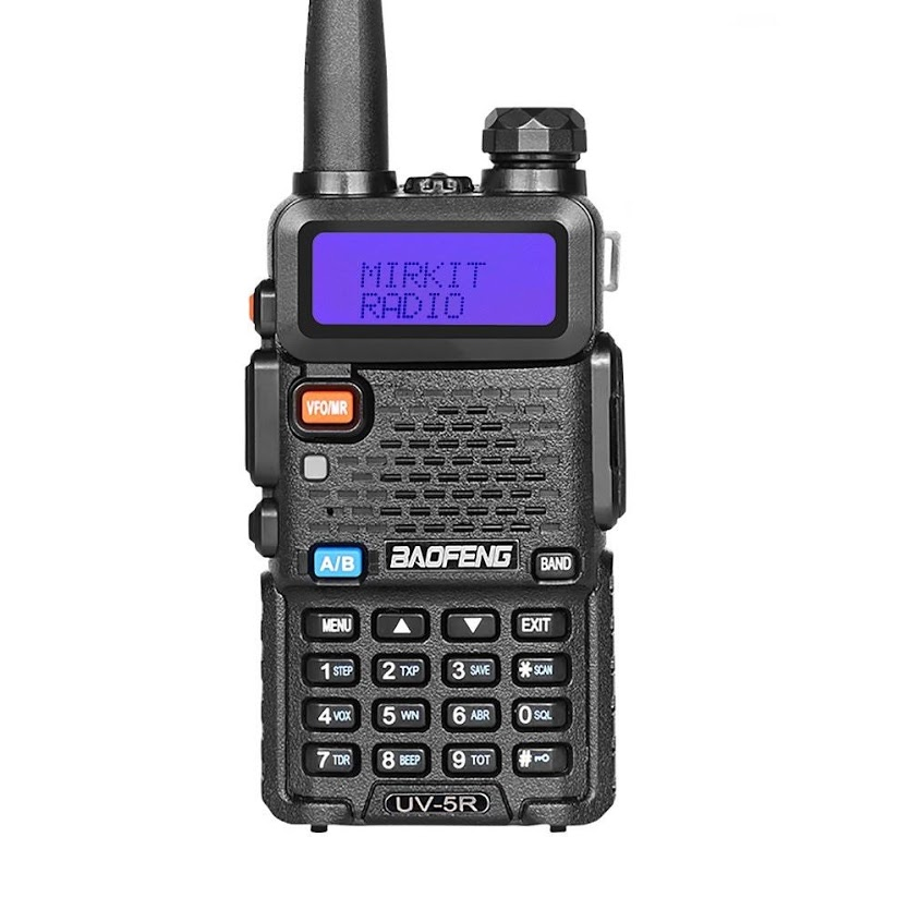 BaoFeng UV-5R 2019 Handheld Dual Band Two Way Radio 136-174/400-520MHz Walkie Talkie Two Way Radio 128 Channels Built-in VOX Function