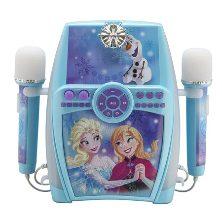 Frozen Deluxe Sing Along Boombox with Dual Microphone](Boo Box Halloween)