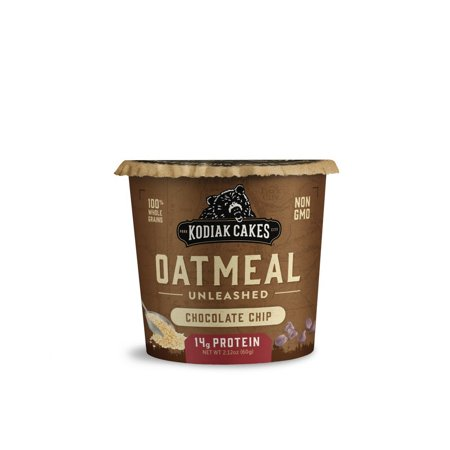Kodiak Cakes Chocolate Chip Oatmeal in a