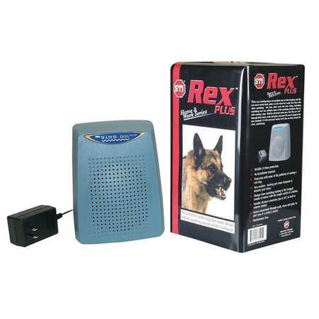SAFETY TECHNOLOGY INTERNATIONAL ED-50 Barking Dog Alarm, Audible/Annunciation