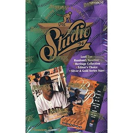 1994 Donruss Studio MLB Baseball Card Box (1994 Donruss Studio)