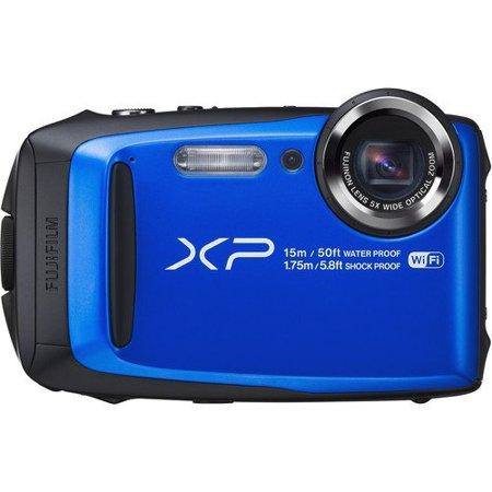 Fujifilm Finepix Xp90 Waterproof Digital Camera  Blue    International Model