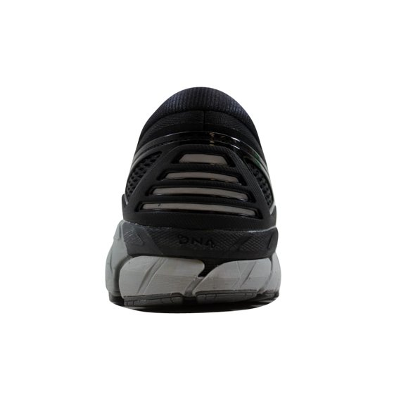 0db8da35deee7 Support and cushion working together in the name of maximum comfort. Brooks  Men s Beast  18 Black Grey-Silver 110282 1D 004
