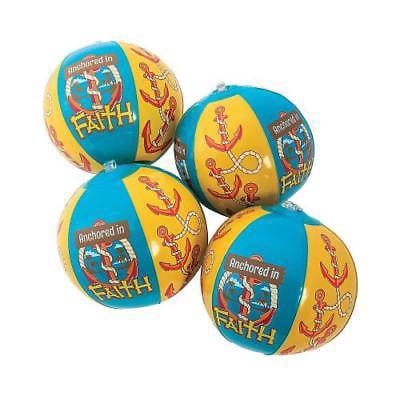 Inflatable Mini Island VBS Beach Balls Per Dozen