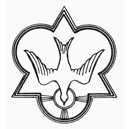 Symbol Holy Spirit Ndove Triangle And Trefoil Christian Symbol Of