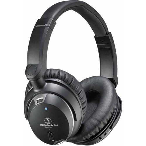 Audio Technica ATH-ANC9 QuietPoint Active Noise-cancelling Headphones