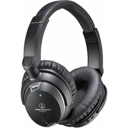 Audio Technica ATH-ANC9 QuietPoint Active Noise-cancelling Headphones by