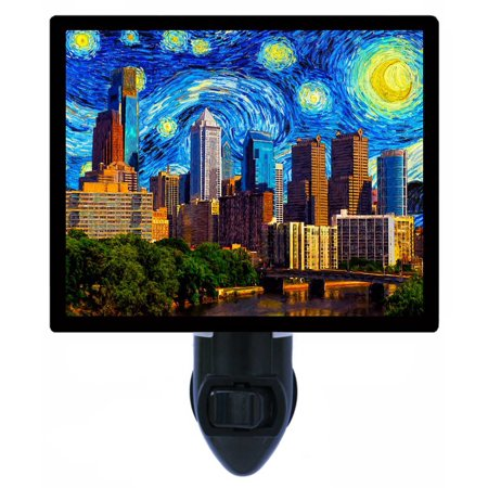 Night Light - Photo Light - Philadelphia Starry Night - Skyline - Van Gogh](Halloween Night Events Philadelphia)