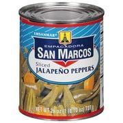 Empacadora San Marcos Sliced Jalapeño Peppers, 26 Oz