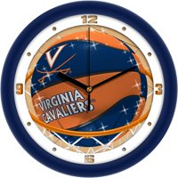 Suntime ST-CO3-VAC-SDCLOCK Virginia Cavaliers-Slam Dunk Wall Clock