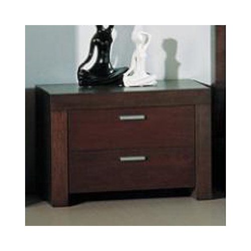 BH Design Traxler NS Nightstand, Walnut