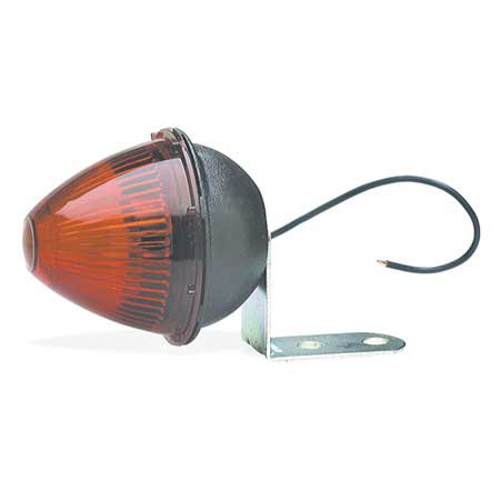 Grote 45022 Red Beehive Clearance Marker Light (With Fixed-Angle Mounting