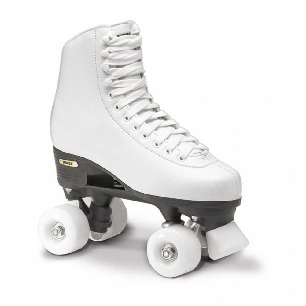Roces Girl's RC1 Classic Roller 1 Skates, White Beginner. 550025-00001-13.5JR