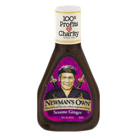 (2 Pack) Newman's Own: Low Fat Sesame Ginger Dressing, 16 Oz