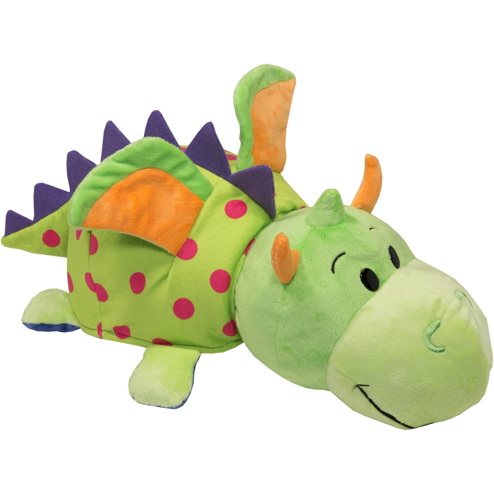 """16"""" Unicorn to Dragon FlipaZoo 2 in 1 Plush Walmart"""