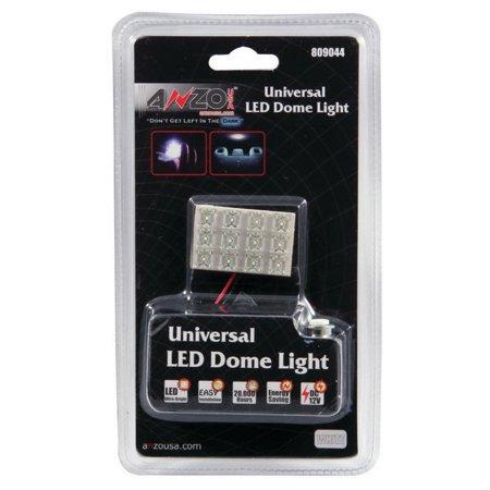 Universal Dome - ANZO LED Dome Light Universal LED Dome Light - 12 LED Universal 1.5in x 1in