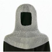 Zinc Plated Chain Mail Coif