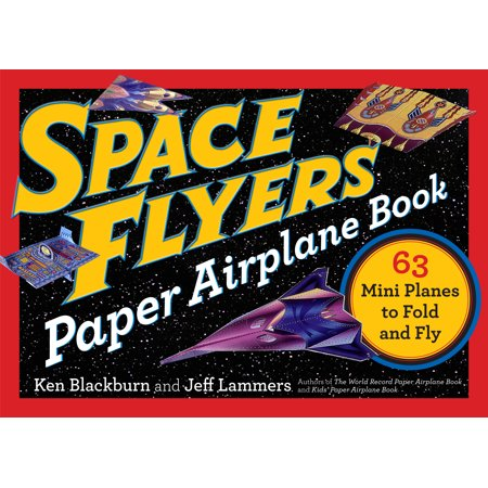 Space Flyers Paper Airplane Book - Paperback](Paper Airplane Contest)