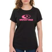 Mossy Oak Women's Short Sleeve Logo Tee