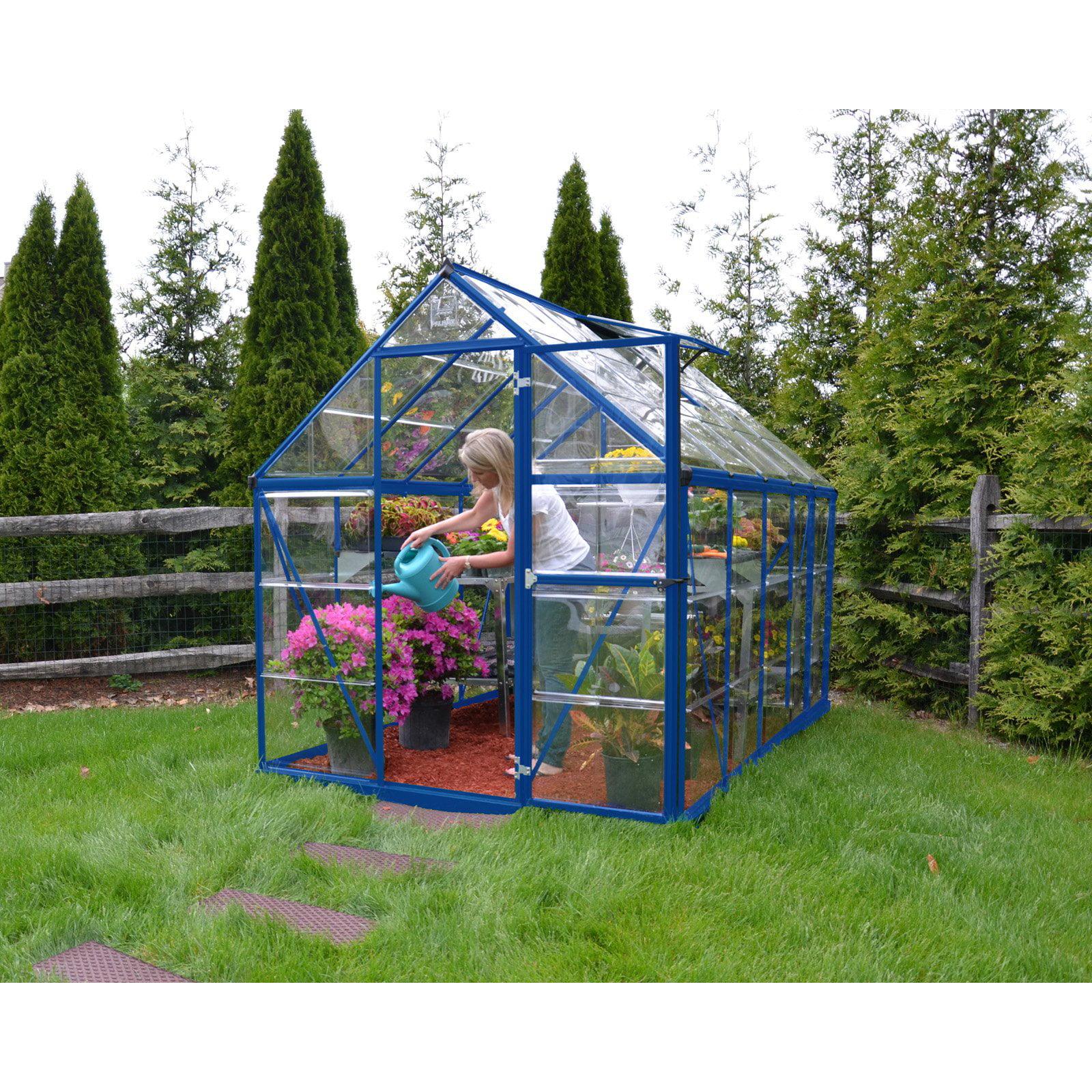 Blue Harmony Greenhouse, 6' x 10' by Palram