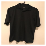 Mens Pebble Beach Performance Golf Polo Short Sleeve Shirt XXL/Black