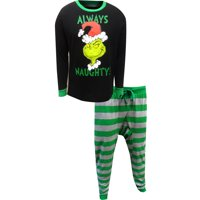 Dr. Seuss The Grinch Always Naughty Guys Pajamas