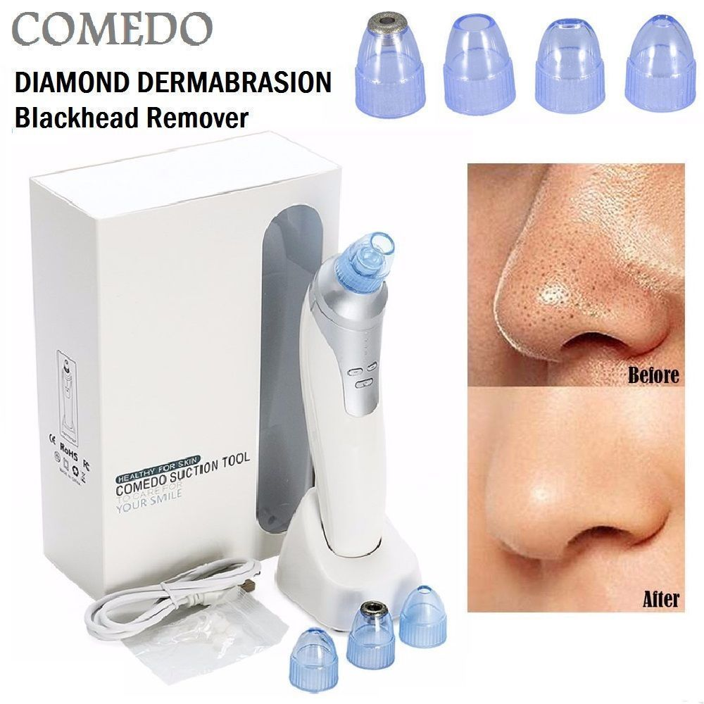 Cooligg Electronic Vacuum Blackhead Suction Remover Extractor Cleaner