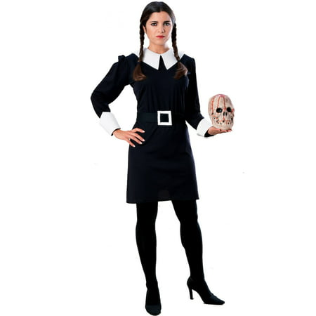 The Addams Family Wednesday Adult Costum (Morticia Addams Costumes)