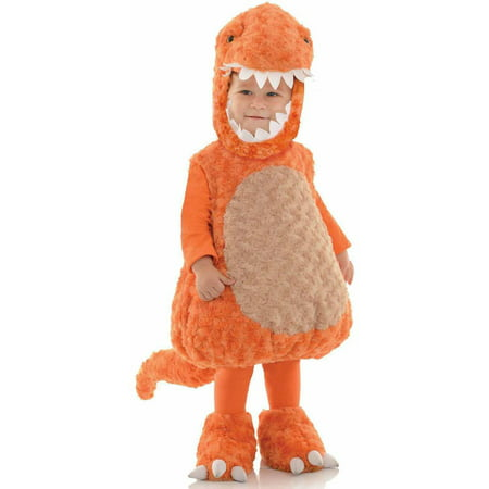 Orange T-Rex Toddler Halloween Costume