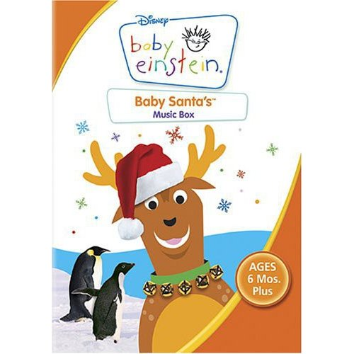Baby Einstein Baby Santa's Music Box by