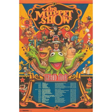 Trends International Muppets Most Wanted Grand Tour Wall Poster 22.375