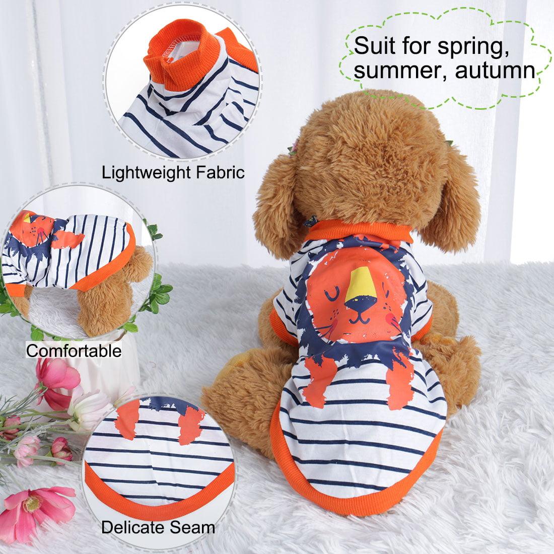 Dog T Shirt Puppy Small Pet Sweatshirt Tops Clothes Apparel Vest Clothing #15 XL - image 6 de 7