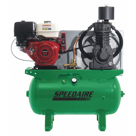 "Speedaire 4LW38 Stationary Air Compressor 175 psi 41""L by SPEEDAIRE"