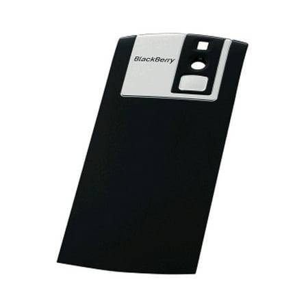 OEM BlackBerry Replacement Standard Battery Door for BlackBerry Pearl 8100 - Dark Grey (Blackberry 8100 Battery Door Cover)