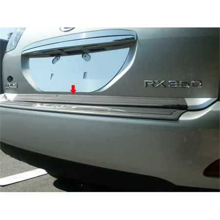 Stainless Steel Rear Deck Trim, Trunk Lid Accent for 04-09 LEXUS (Trunk Accent Trim)
