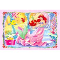 Little Mermaid Princess Cake Topper Edible Frosting Image 1/4 Sheet