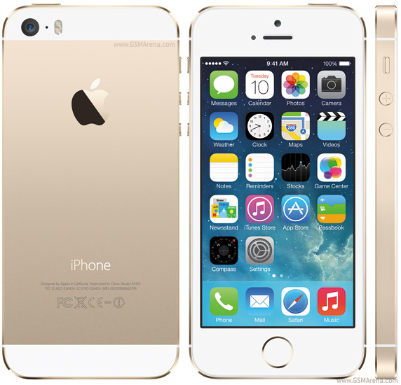 Refurbished Apple iPhone 5s 32GB, Gold - AT&T