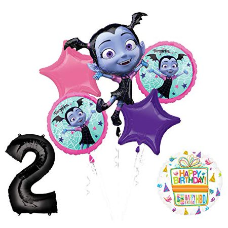 Mayflower Products Vampirina 2nd Birthday Balloon Bouquet Decorations and Party Supplies](2nd Birthday)