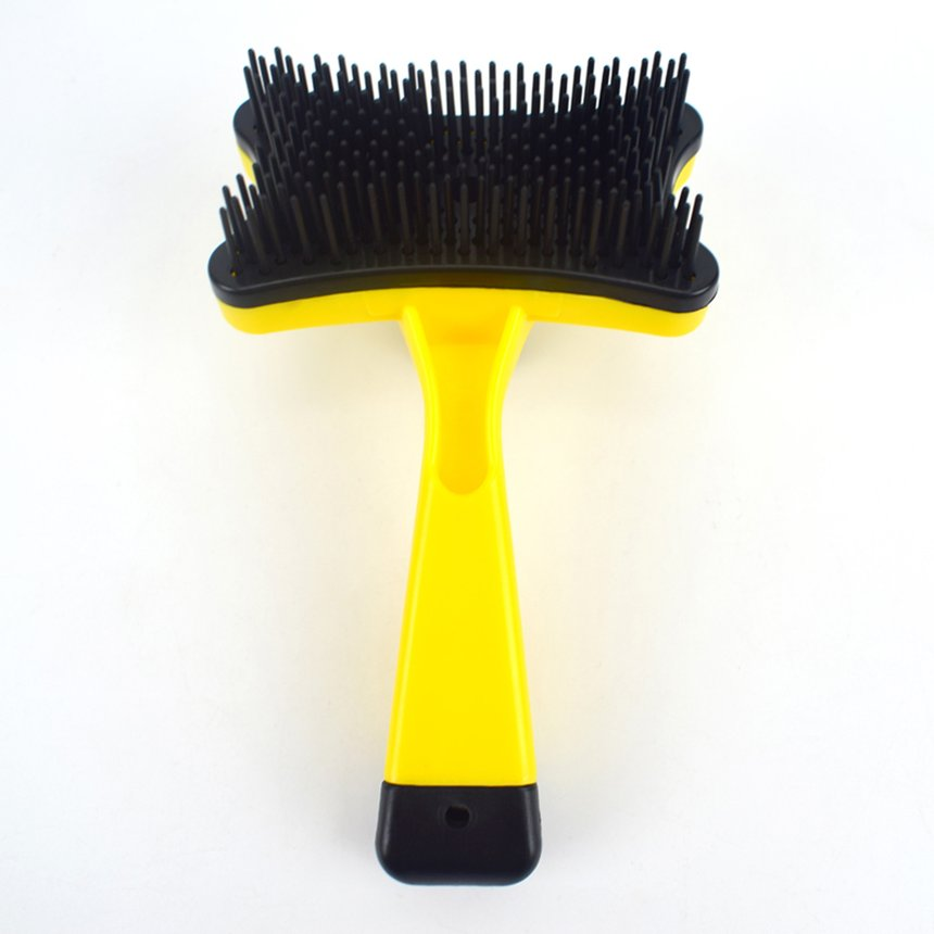 Pet Dog Beauty Open Knot Hair Removal Plastic Comb