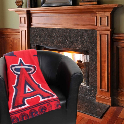 "Los Angeles Angels The Northwest Company 50"" x 60"" Strength Fleece Blanket - No Size"