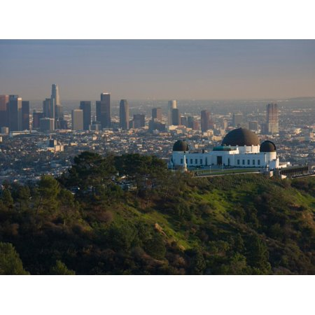 Observatory on a Hill Near Downtown, Griffith Park Observatory, Los Angeles, California, USA Print Wall (Malls Near Me Los Angeles)