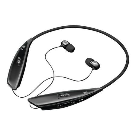e6e506f4c3f LG TONE ULTRA HBS-810 Headset - Earphones with mic - in-ear - wireless -  Bluetooth - noise isolating - black - Walmart.com