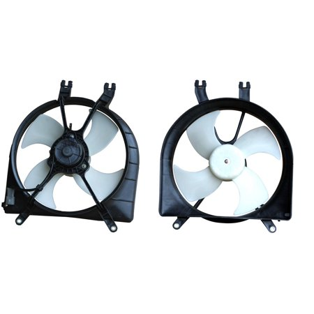 - APDI 6019109 Engine Cooling Fan Assembly for Honda Civic, Civic del Sol