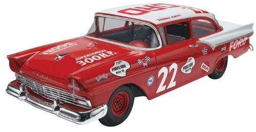 Fireball Roberts '57 Ford Plastic Model Kit, This kit features a detailed supercharger 312... by