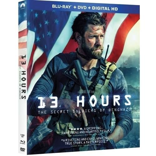 13 Hours: The Secret Soldiers Of Benghazi (Blu-ray + DVD + Digital HD) (Walmart Exclusive) (With INSTAWATCH)) by