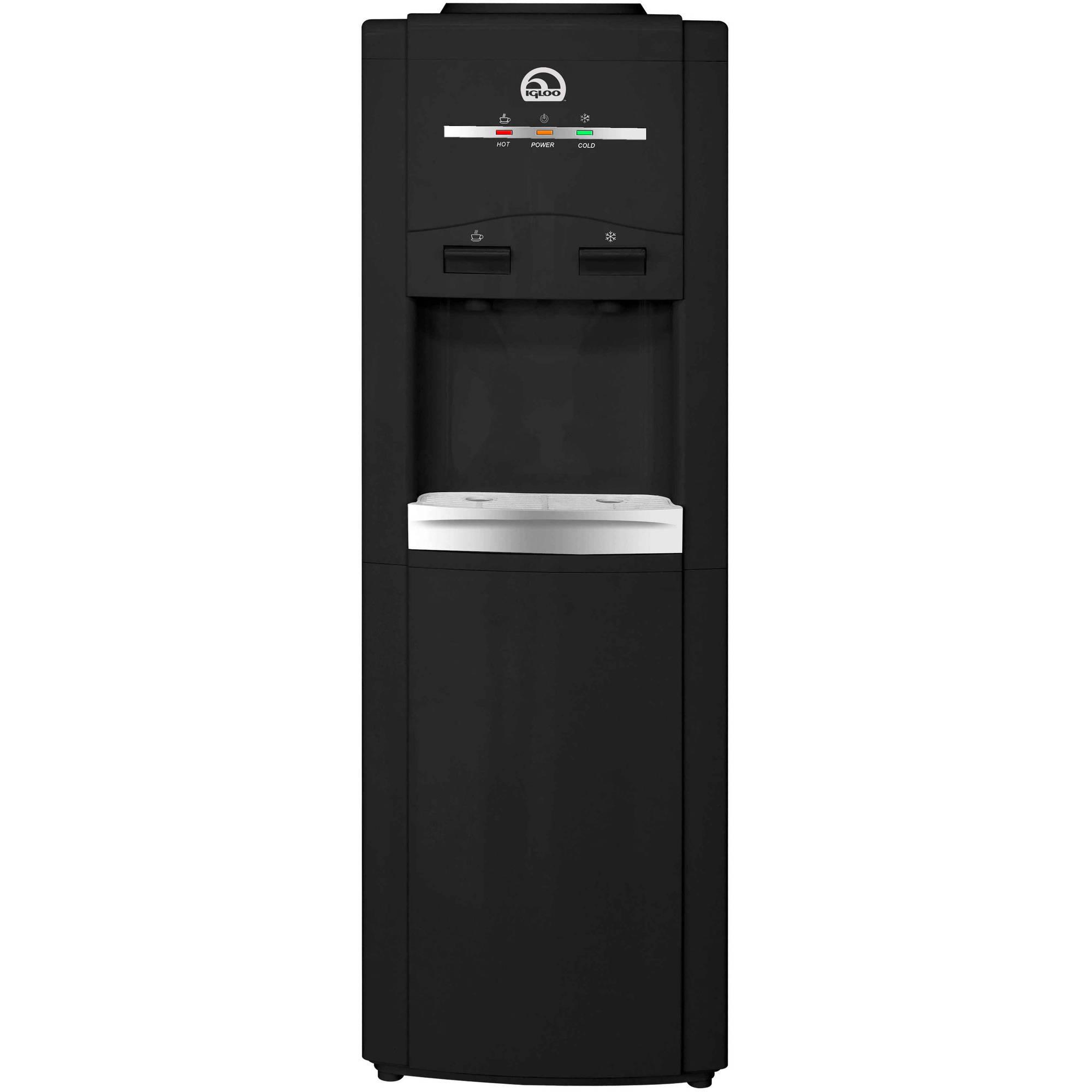 Igloo Water Cooler/Dispenser, Black