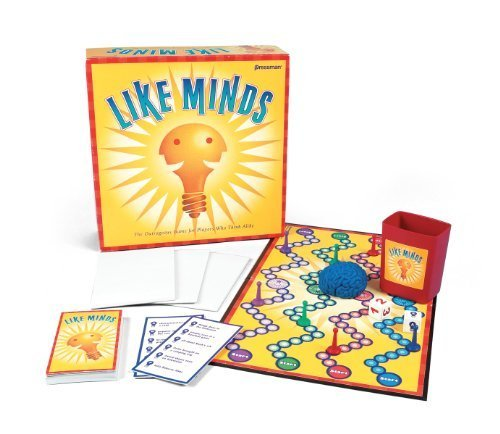 Like Minds Board Game by Pressman Toy by