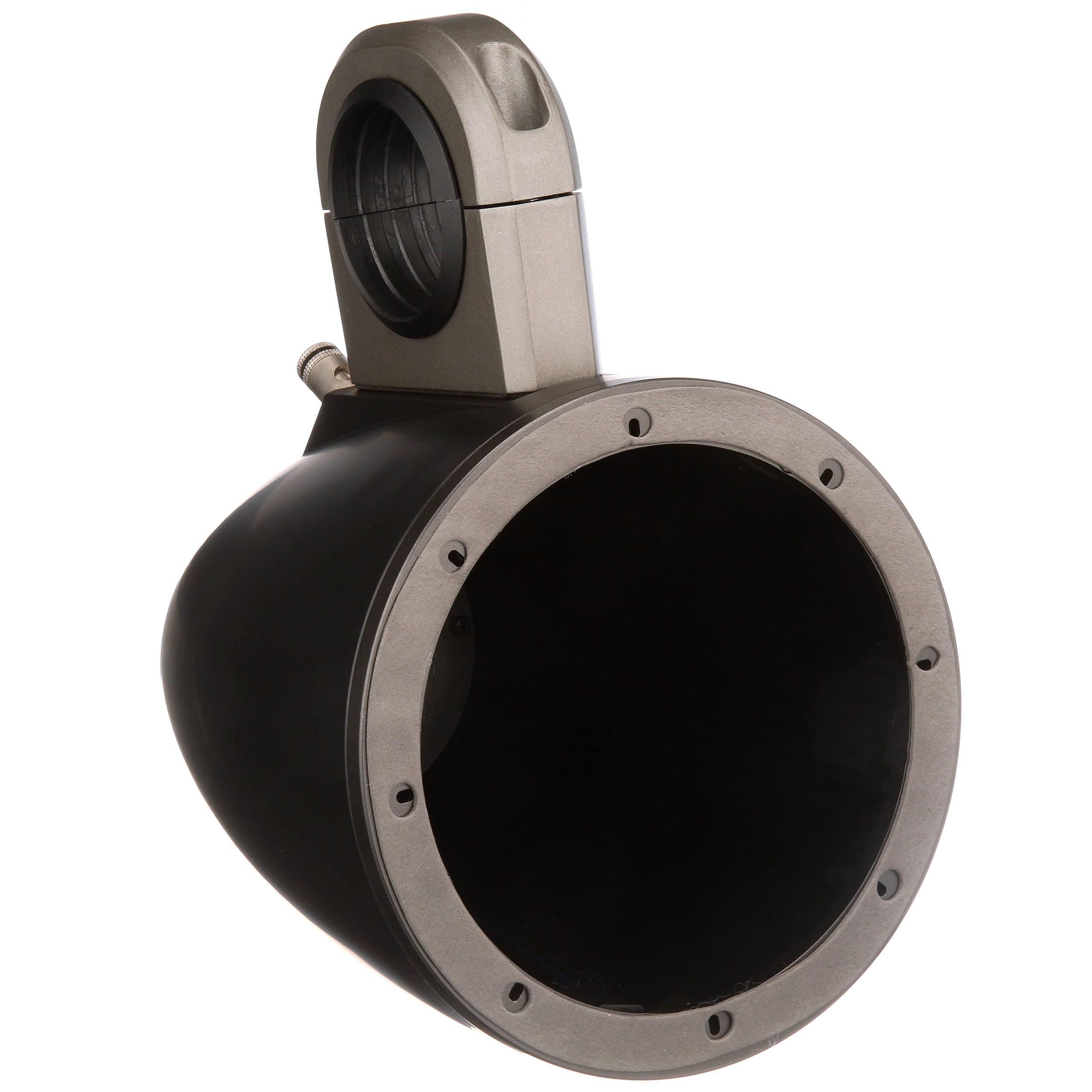 2 Kicker 12KMTED 6.5 Dual Marine Weather-Proof Speakers Tower Empty Enclosures
