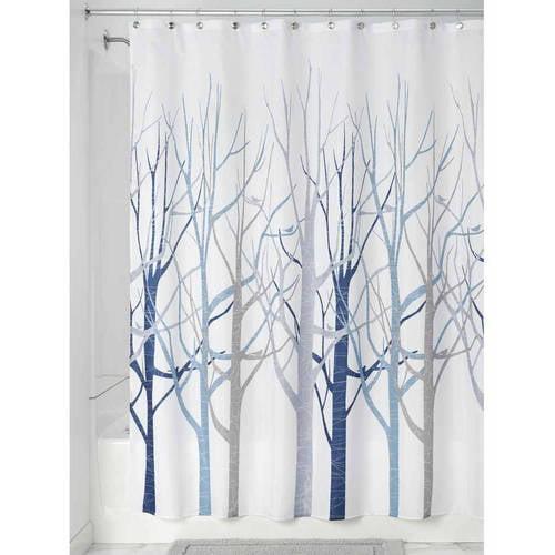 """InterDesign Forest Fabric Shower Curtain, 72"""" x 72\ by INTERDESIGN"""